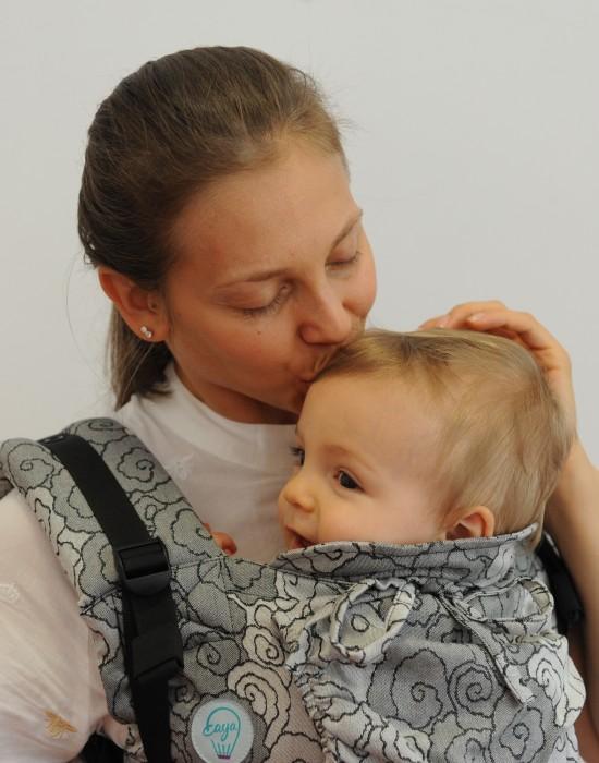 """Ergonomic baby carrier """"Korra"""" - Lokum Hazel - Toddler"""
