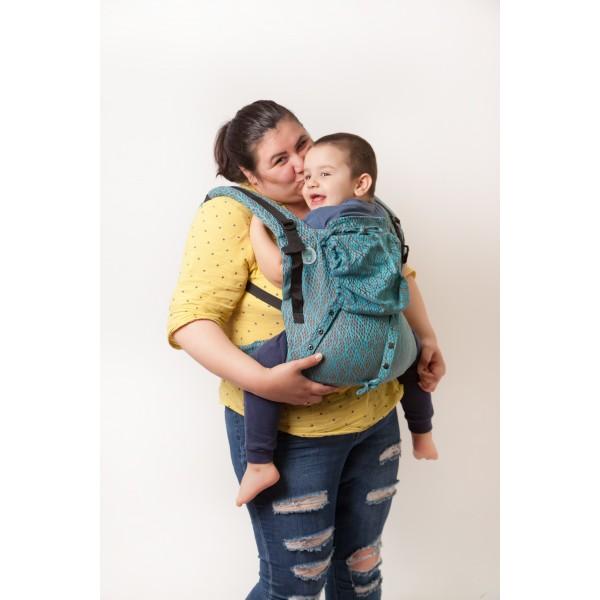"Ergonomic Baby Carrier ""Eywa"" - LEAVES - Toddler"