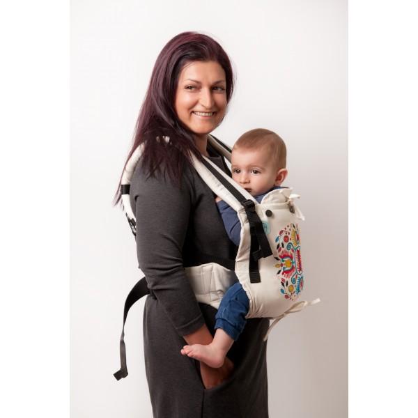 "Ergonomic Baby Carrier ""Eywa"" - EMBROIDERY"