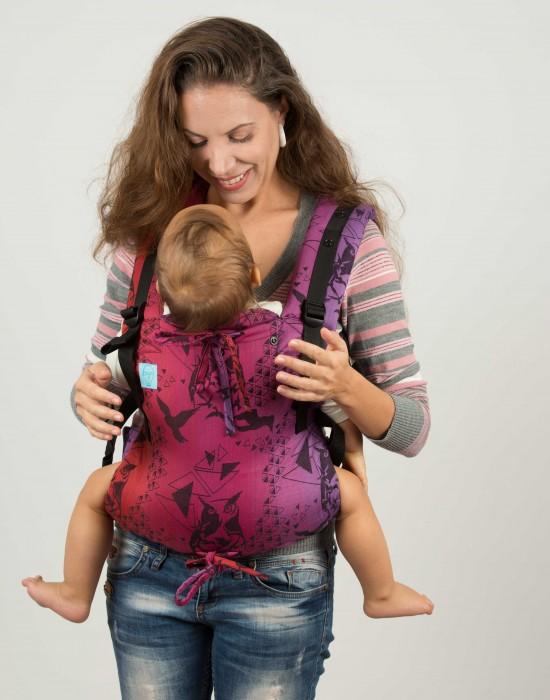 "Ergonomic baby carrier ""Eywa"" - Lokum Hazel - Toddler"