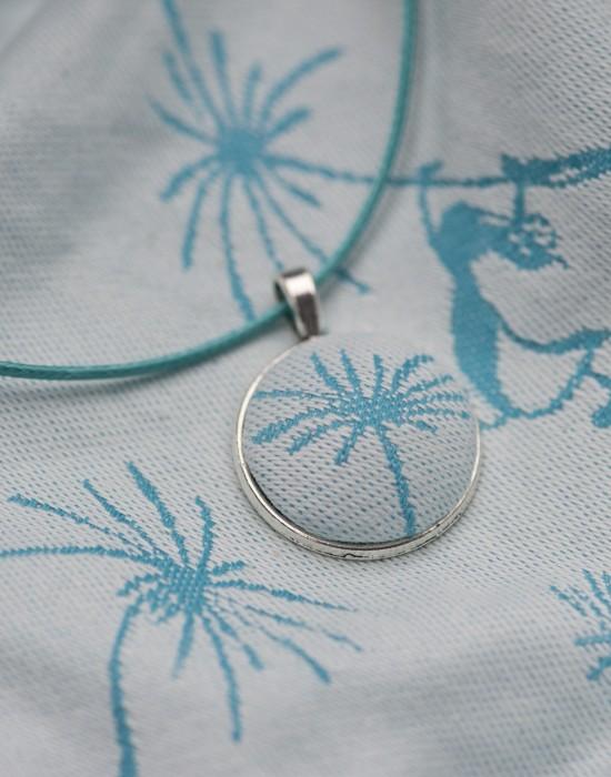"Necklace and earrings ""Kaya"""